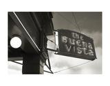 Buena Vista Sign 1 Kunst af Christian Peacock