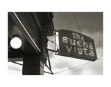 Buena Vista Sign 1 Art by Christian Peacock