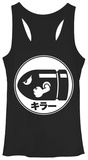 Juniors Tank Top: Super Mario Bros- Bullet Bill Tank Top