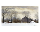 Bucks Winter Prints by Ray Hendershot