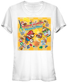 Juniors: Paper Mario- Sticker Star T-Shirt