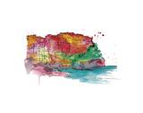 Brights of Cinque Terre Posters par Jessica Durrant