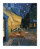 Cafe Terrace at Night Giclee Print by Vincent van Gogh