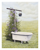 Bird Bath Plakater af Kathleen Green