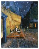 Cafe Terrace at Night Plakater af Vincent van Gogh