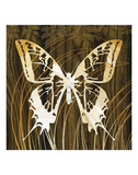 Butterflies & Leaves I Posters by Erin Clark