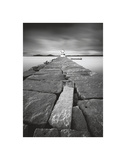 Breakwater Light Print by Moises Levy