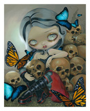 Butterflies and Bones Prints by Jasmine Becket-Griffith