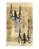 Brocade Sconces Posters by Pyper Morgan