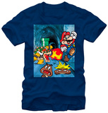 Super Mario Bros- Bowser Chase Shirts