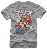 Super Mario Bros- Racoon Flight T-Shirt