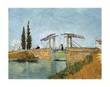 Vincent van Gogh - Bridge Digitálně vytištěná reprodukce