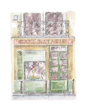 Cafe Natalie Prints by Jane Claire