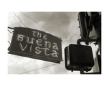 Buena Vista Sign 2 Print by Christian Peacock