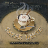 Café Latte Prints by Jane Claire