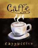 Caffé Cappuccino Prints by Anthony Morrow