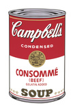 Campbell's Soup I: Consomme, 1968 Giclee Print by Andy Warhol
