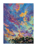 California Sky (top left) Poster by Erin Hanson