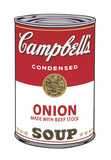 Campbell's Soup I: Onion, 1968 Prints by Andy Warhol