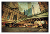 Chrysler Over Grand Central Print by Eric Wood
