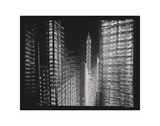 Chrysler Building Motion Landscape 4 Poster by Len Prince