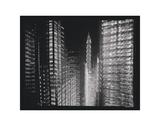 Chrysler Building Motion Landscape 4 Poster by Len Prince
