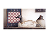 Checkers and Slats Prints by Ray Hendershot