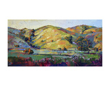 California Greens Print by Erin Hanson