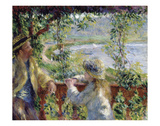 By the Water, ca. 1880 Print by Pierre-Auguste Renoir