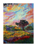 California Sky (bottom right) Art by Erin Hanson