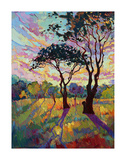 California Sky (bottom left) Print by Erin Hanson