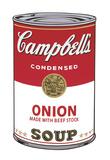 Campbell's Soup I: Onion, 1968 Giclée-tryk af Andy Warhol