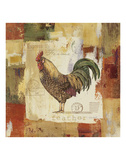 Colorful Rooster II Poster di Lisa Audit