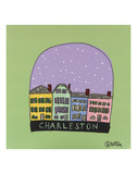 Charleston Snow Globe Prints by Brian Nash