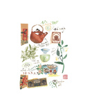 Chinese Tea Prints by Lucile Prache