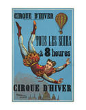 Cirque d'hiver Art by  Vintage Reproduction