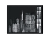 Chrysler Building Motion Landscape 3 Prints by Len Prince