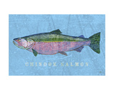 Chinook Salmon Posters by John Golden