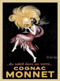 Cognac Monnet, 1927 Prints by Leonetto Cappiello