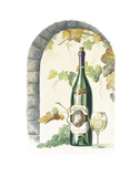 Chardonnay Print by Lisa Danielle