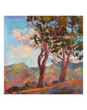 Catalina Hills Prints by Erin Hanson