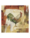 Colorful Rooster I Prints by Lisa Audit