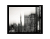 Chrysler Building Motion Landscape 1 Prints by Len Prince