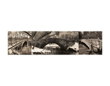 Central Park Bridges (tryptych) Print by Chris Bliss
