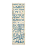 Cape Cod Beach Towns I Posters by  Sparx Studio