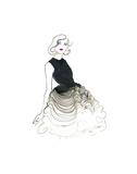 Dior does Ombre Poster par Jessica Durrant