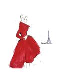 Dior and Paris Posters par Jessica Durrant