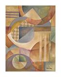 Circular Rhythms II Poster by Marlene Healey