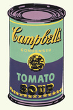 Colored Campbell's Soup Can, 1965 (green & purple) Poster af Andy Warhol