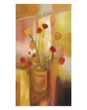 Comfort of Flowers Prints by Nancy Ortenstone
